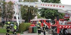 Nach Küchenbrand – fünf Verletzte, Katze tot