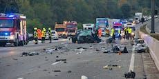 Tote, Verletzte bei schrecklichem Unfall auf Autobahn