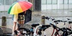 Gewitter kühlt Österreich ab und bringt sogar Schnee