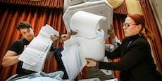 Wahl in Russland: Kreml-Partei nach Teilauszählung vorn