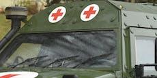 Bundesheer-Soldat schießt sich mit Pistole in Fuß