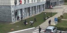 Schüsse an Uni in Perm – Studenten springen aus Fenster