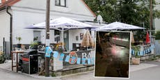 Fotos zeigen: So zerstörten LASK-Fans Linzer Lokal