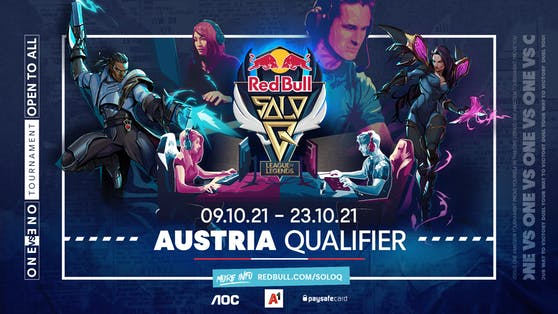 """Red Bull Solo Q ist das offizielle 1v1 """"League of Legends""""-Turnier in Kooperation mit Riot Games."""