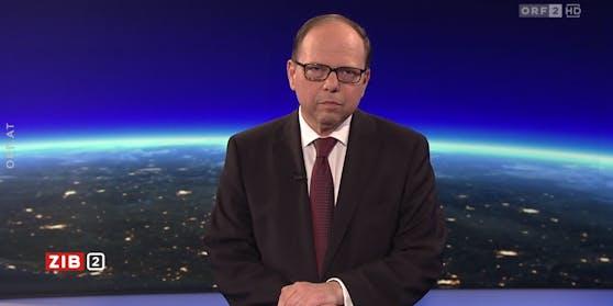 """Ärztekammer-Präsident Thomas Szekeres war am Montag in der """"ZiB 2"""" zu Gast."""