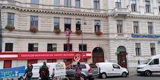 Lobautunnel-Gegner belagern SPÖ-Zentrale in Wien