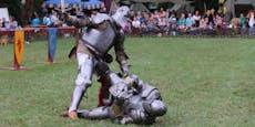Mittelalter-Spektakel: Großes Ritterfest in Laxenburg