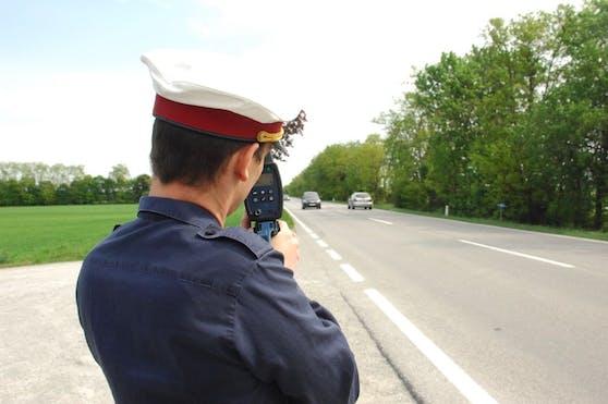 Polizei ertappte Raser in Niederösterreich