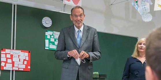 Gesundheitsminister Heinz Faßmann