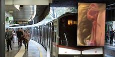 Ohr abgebissen! Schock-Attacke in Wiener U-Bahn