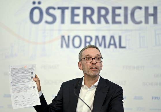 """Der FPÖ-Chef hat die Anklageschrift gegen Wolfgang Rosam fertig. Es geht um Unterlassung der Behauptung,Herbert Kickl sei """"heimlich geimpft"""" worden (Symbolfoto)."""