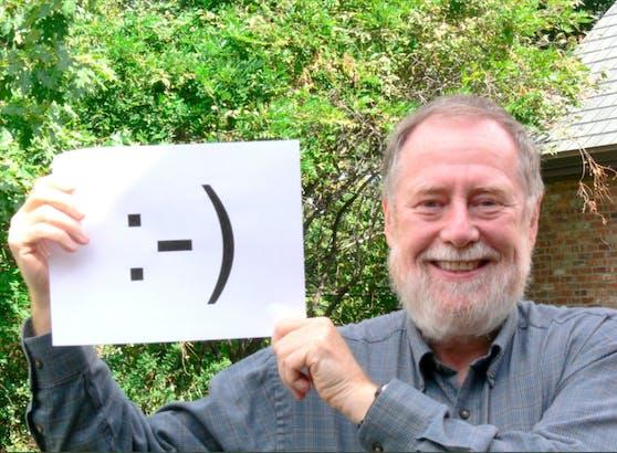 Scott Fahlman gilt als Erfinder des digitalen Smileys, wie wir es kennen.