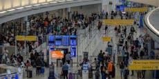 Corona-Kontrollen könnten zuChaos an Flughäfen führen