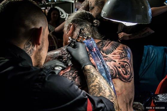 Die Wildstyle & Tattoo Messe geht Besuchern unter die Haut. Gemeinsam mit dem European Street Food Festival findet die Messe am 25. und 26. September in der Stadthalle statt.