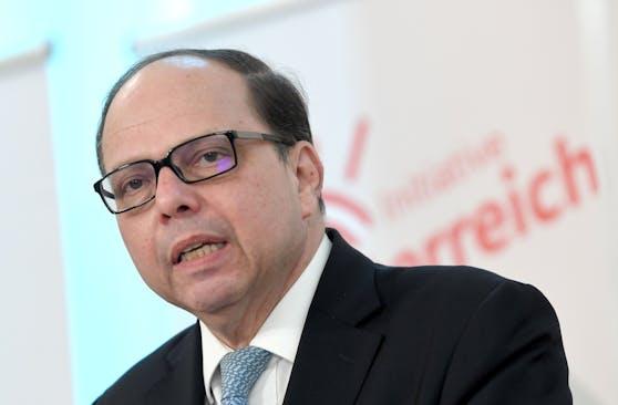 Ärztekammer-Präsident Thomas Szekeres.