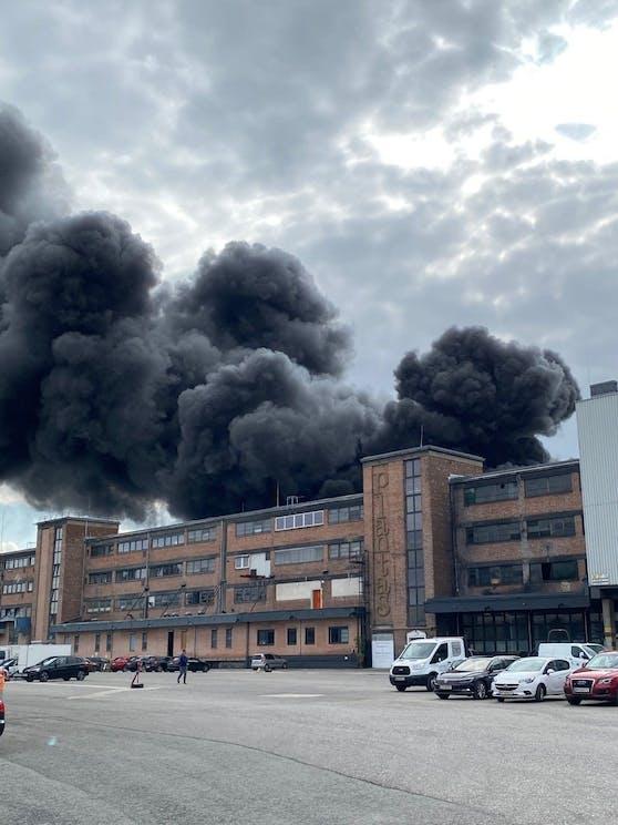 Großbrand in Traiskirchen