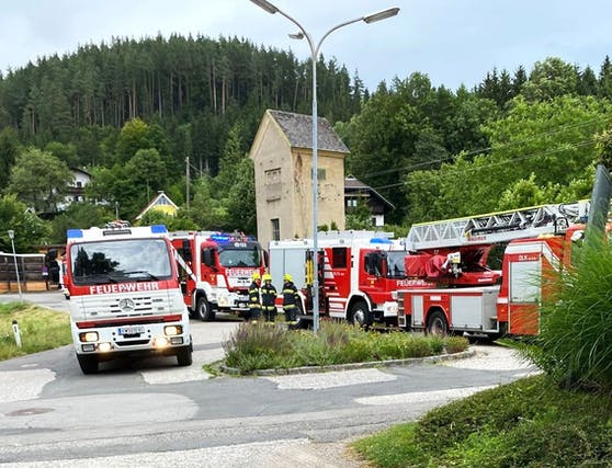 Großeinsatz in Kärnten nach einem schweren Arbeitsunfall.