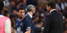 Messi: Knie-Probleme als Grund für Wut-Auswechslung?