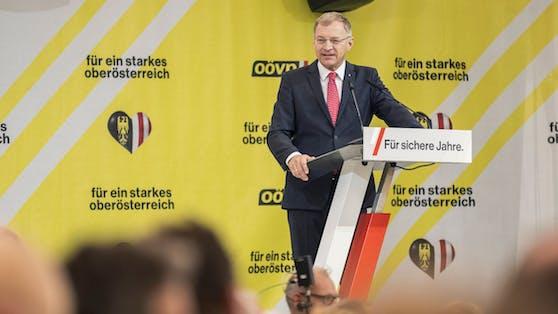 """Deutliche Worte von LH Stelzer: """"Wollen in OÖ keinen Kickl"""""""