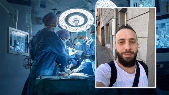 Der 33-Jährige kann seit seiner missglückten Operation fast nicht mehr gehen.