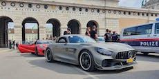 Onlyfans-Lambo undHamster-Porsche in Wien unterwegs
