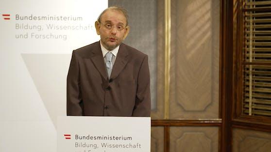 Grissemann als Heinz Faßmann