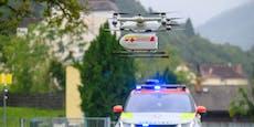 Blutkonserve flog erstmals in Österreich per Drohne