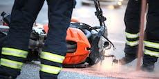 Crash mit Traktor-Fahrer (21) – Motorradlenker tot