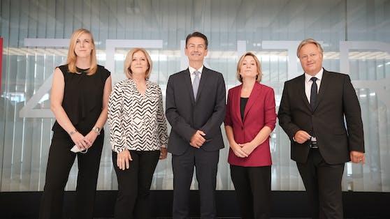 Das neue Chefteam im ORF kann sich über hohe Gagen freuen.
