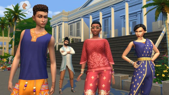 """""""Die Sims 4"""" Fashion Street- und Incheon Style-Sets ermöglichen mehr Kreativität zur """"Season of Selves""""."""