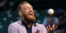 Blamage für UFC-Star McGregor bei Baseball-Wurf