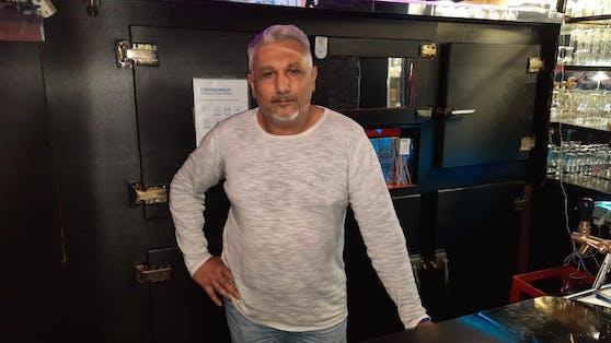 Lokalbesitzer Goran Petrovic zieht ab Oktober die 2G-Regeln durch.