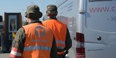 Bundesheer stoppt Schlepper mit 17 Migranten im Auto