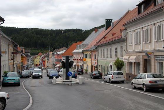 Der Hauptplatz von Bleiburg im Jahr 2006. Archivbild.