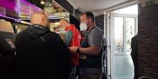 """3G-Razzia in Wien – """"Heute"""" auf Streifemit der Polizei"""