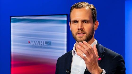 Felix Eypeltauer, Spitzenkandidat der oberösterreichischen Neos
