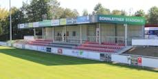 Linzer Fußball-Tribüne ohne Genehmigung, Abriss droht