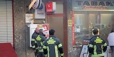 Trafik wird ausgeraubt, plötzlich kommt die Feuerwehr