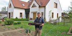 Mann findet 1.000 Jahre altes Relikt im Garten