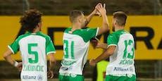 Rapid wirft Admira nach Verlängerungs-Krimi aus ÖFB-Cup