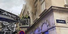 Tödlicher Zimmerbrand in Wien-Neubau