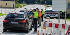 Braunau schon wieder vor Ausreisekontrollen