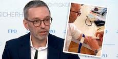 """Kickl legt Beweis-Video vor: """"Bin nicht geimpft"""""""