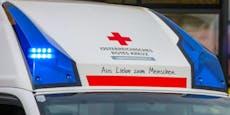 Arbeiter (53) stürzte auf Baustelle sechs Meter tief