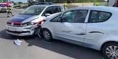 Amokfahrt nach Messerattacke – 3 Polizistinnen verletzt