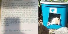 Ein kurzer Brief rührte neue Hausbesitzer zu Tränen...