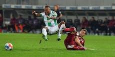 3:1! Bayern schlagen auch in Unterzahl das Schlusslicht
