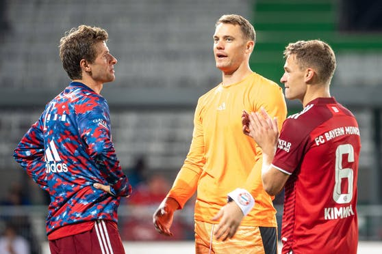 Die Bayern waren mit dem 3:1-Erfolg in Fürth nicht restlos zufrieden.