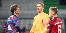 """3:1-Sieg mit zehn Mann für Bayern """"keine Glanzleistung"""""""