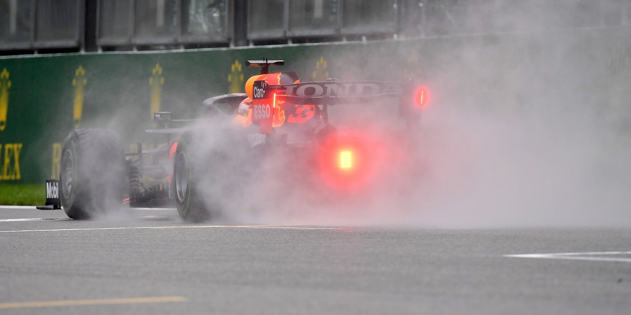 Regen-Chaos in Sotschi: Formel 1 ändert den Zeitplan ...